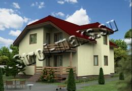 Дачные дома из пеноблоков