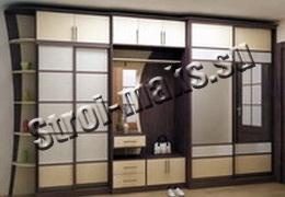 Установка шкафов купе в москве и области недорого