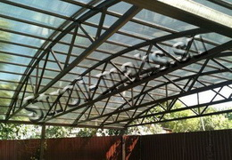 Сварка крыши из металла