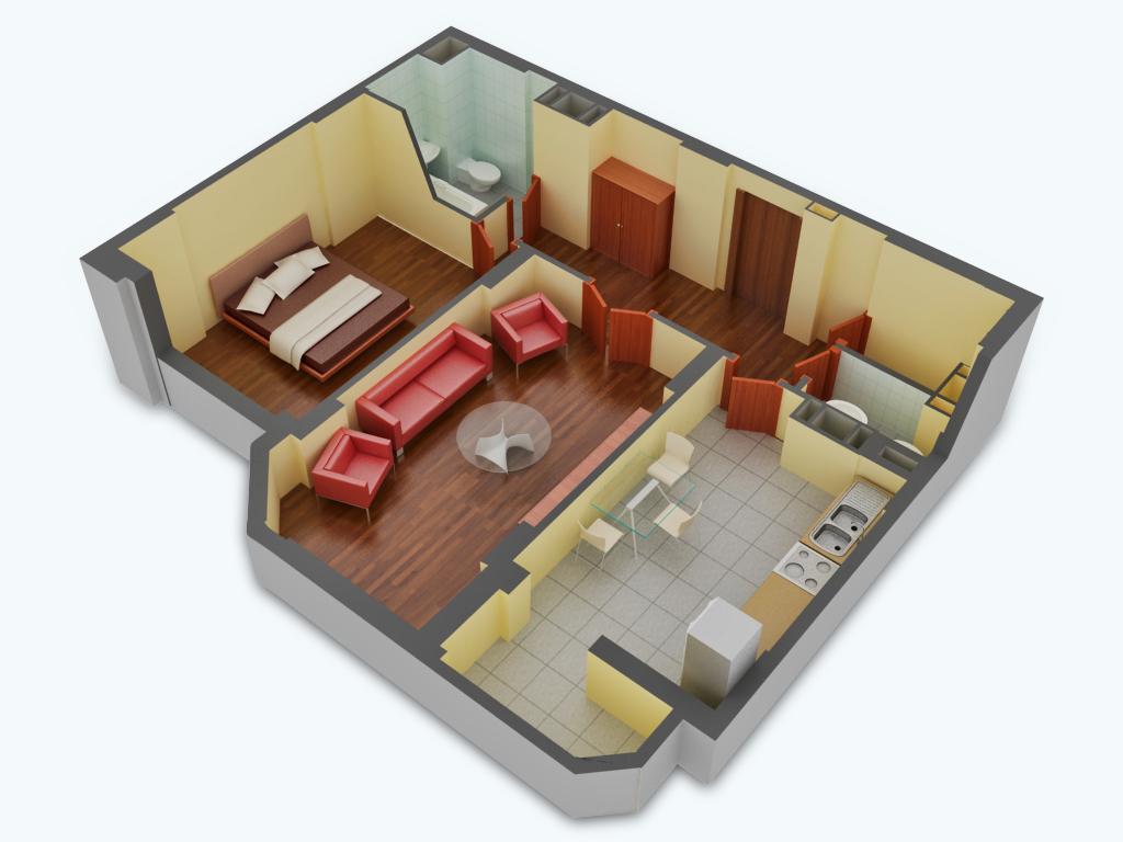 2 комнатные квартиры ремонт: